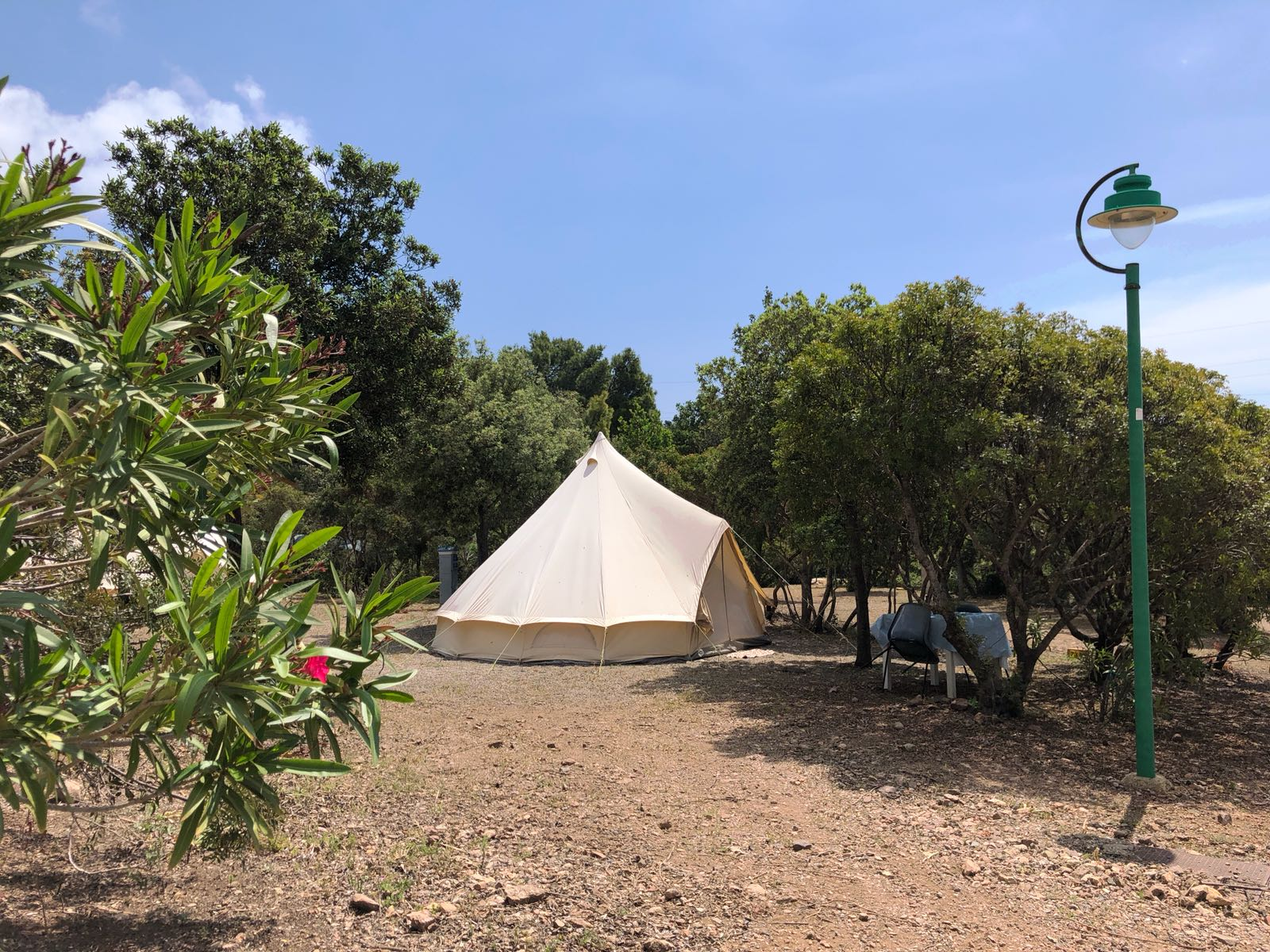 Camping tesonis tende teepee e glamping - Camping bagno privato ...